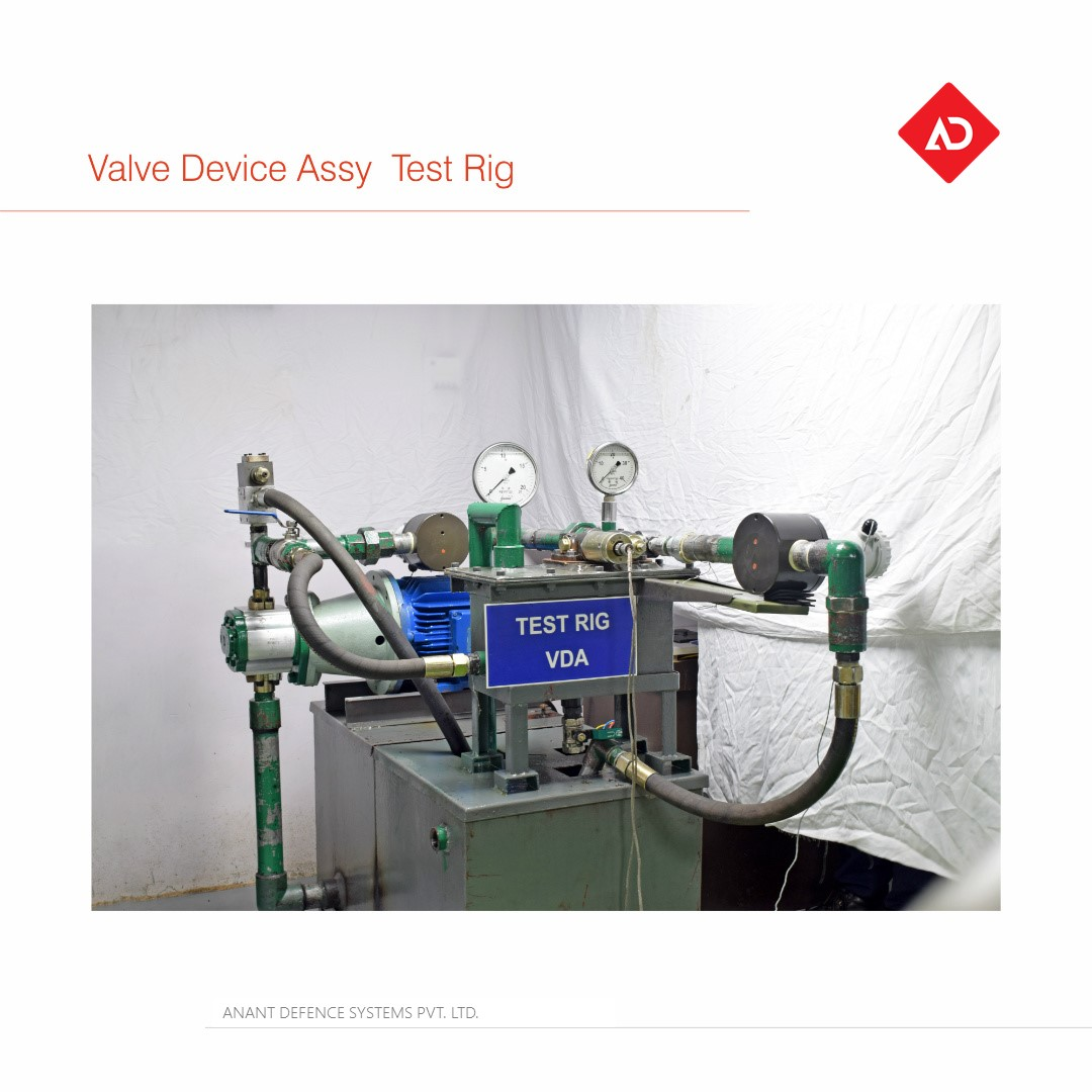 Valve Device Assy  Test Rig